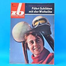 DDR Zeit im Bild ZB NBI 13/1963 NVA Volksmarine Rennrodeln Frankreich Ceylon D