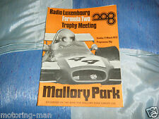 JAMES HUNT HESKETH ROGER WILLIAMSON MALLORY PARK RADIO LUXEMBOURG F2 PROGRAMME