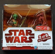 Geonosis Arena Showdown Rodian Jedi & Battle Droid Legacy Collection Star Wars