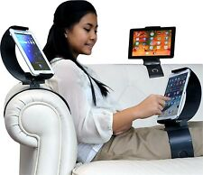 Clamp Champ Hands Free Univ Tablet Holder 360 works w/ cars airplanes cases iPad