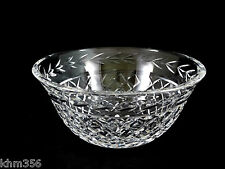 Large Waterford Crystal Glass Glandore Salad Serving Bowl