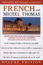 French with Michel Thomas {8 DISC DELUXE EDITION AUDIO CD/ LIKE NEW/ FREE SHIP}