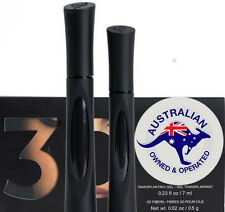 PREMIUM QUALITY NEW UNBOXED ENHANCED UNIQUE BLACK 3D FIBER LASH MASCARA GEL SET