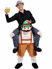 Hot Bavarian Beer Guy Ride On Mascot Denver Oktoberfest Piggy Back Carry Me free