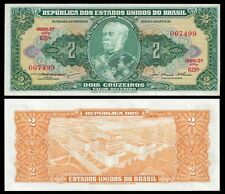 Brazil 2 CRUZEIROS sign 5 ND (1956-58) P 157Ab UNC