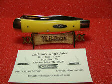 CASE XX USA DOTS--78/79--TRAPPER--YELLOW DELRIN--3254--CARBON STEEL