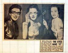 1954 Fashion Models June Morrison And Miss Maureen And June Oakes Spectacles