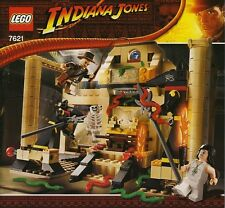 LEGO INDIANA JONES THE LOST TOMB #7621 ALL 3 MINIFIGURES 100% COMPLETE GUARANTEE