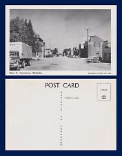 CANADA MANITOBA GRANDVIEW MAIN STREET CIRCA 1955 KENMONT PHOTO NUMBER 736
