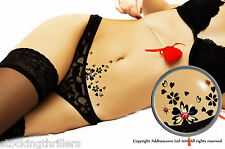 Addttoo Novità Divertente Adulto Crystal BODY ART TATTOO SEXY SWAROVSKI Vajazzle KIT
