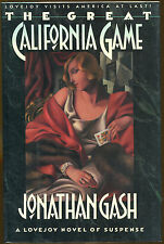 The Great California Game by Jonathan Gash-1st Ed./DJ-1991-Lovejoy