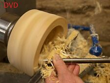 STEP-BY-STEP~ LATHE TRAINING~ DVD WOODWORKING EASY WOOD-TURNING