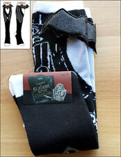Nightmare Before Christmas NBC Bat Costume Jack's Suit Long Knee High Boot Socks