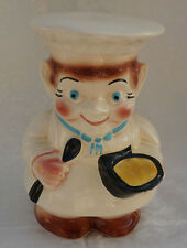 Vintage Baker Chef Cookie Jar RRP Robinson Ransbottom Roseville USA