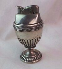 ANTIQUE ART DECO WEIGHTED STERLING SILVER TABLE LIGHTER