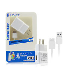 Universal Travel USB 3.0 Data Sync Cable Charger For Samsung Galaxy Note 3 S5