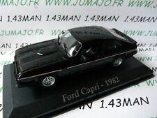 voiture 1/43 RBA Italie IXO : FORD capri 1982 2.8 l injection noire