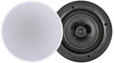 """Ceiling Speaker 8ohms Or 100v  Adastra Lp6v 6.5"""" Low Profile White LP6V"""