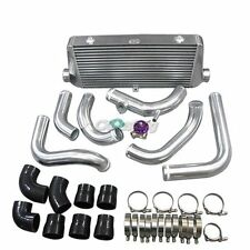 """Front Mount Intercooler 2.5"""" piping Kit BOV For Nissan S13 S14 240SX RB20/25DET"""