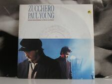 ZUCCHERO / PAUL YOUNG - SENZA UNA DONNA / WITHOUT A WOMAN 45 GIRI 7""