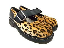 Tredair Women's Cheetah Print Mary Jane Shoes Size 7