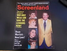 Sharon Tate, Lennon Sisters, Michael Caine - Screenland Plus TV-Land Mag 1970