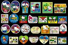 JAPAN, HELLO KITTY AND FRIENDS, 27 DIFFERENT, GREAT SELECTION, FINE USED