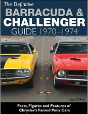 1970 to 1974 Plymouth Barracuda - Cuda Restoration - Reference Guide - CT558