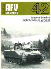 AFV Weapons Profile 42 - Swedish Light Armoured Vehicles - DVD