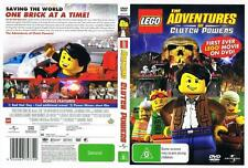 LEGO: THE ADVENTURES OF CLUTCH POWERS,  DVD