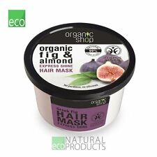 Organic Shop Hair Mask Express Shine Fig and Almond 250ml