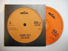 LILY ALLEN : ALRIGHT, STILL [ CD ALBUM PROMO PORT GRATUIT ]