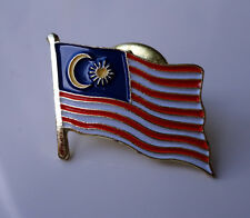 ZP249 National Country Flag Pin Badge Malaysia