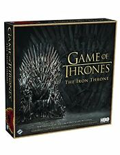 Game Of Thrones: The Iron Throne Game [Fantasy Flight Exclusive Board Game] NEW
