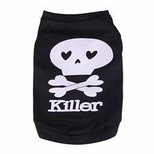 Cat Chihuahua Vest Clothes Pet Puppy Small Dog T Shirt Apparel - Killer Pattern