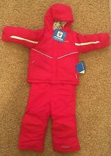 NEW NWT $125 Columbia Girl 3T Arctic Trip Set 2 PIECE Coat Bib Pant Snowsuit
