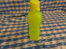 Tupperware Small ECO WATER Bottle 500 ml / 16 oz hydrate NEW Neon Yellow