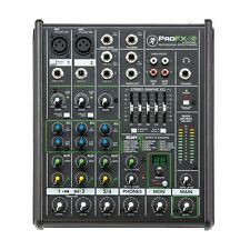 Mackie PROFX4V2 4-Channel Studio / Live Mixer Mixing Desk With USB & Effects