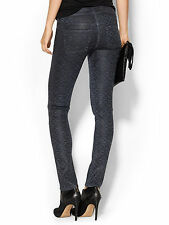 $268 NEW Citizens of Humanity Racer Low Rise Skinny in Lhasa Blue Leatherette 30