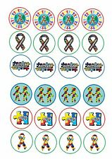 24 icing cupcake cake toppers edible New Autism Awareness Month April Special