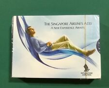 Singapore Airlines Airbus A330  playing cards sealed deck !