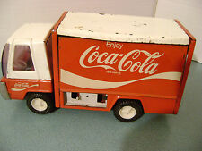Vintage 1970's Metal Buddy L Coca Cola Delivery Truck Japan