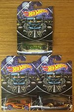 Hot Wheels HAPPY HALLOWEEN Set Of 3: What 4-2, Screamliner, 16 Angels Exclusive