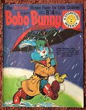 BOBO BUNNY COMIC 30 JANUARY 1971  FN+. CHILDRENS COMIC. PUZZLES NOT DONE.