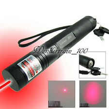 Zoomable Red rojo Laser Pointer puntero Pen 1MW Haz luminoso 650nm 301r