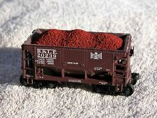 "6-Pack of HO Scale IRON ORE LOADS - fits Walthers ""Minnesota"" IRON ORE Cars"