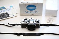Minolta xd7 Body, nuova versione, Incl. SCATOLA ORIGINALE!