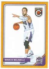 2015-16 Panini Complete Basketball Gold Parallel #117 Marco Belinelli Sac Kings