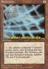 Seelennetz (Soul Net) Magic limited black bordered german beta fbb foreign deuts