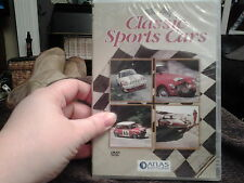 classic sports cars dvd new and sealed porsche MGB morgan roadster triumph spitf